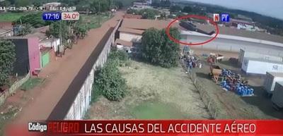 Nuevas imágenes retratan accidente aéreo en Pedro Juan