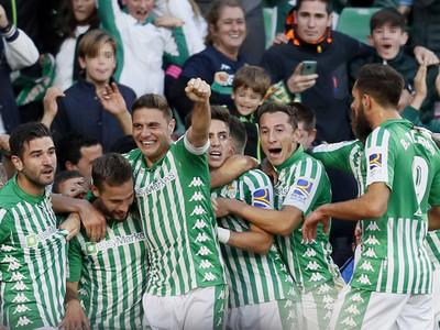 Victoria bética en el último minuto ante Valencia
