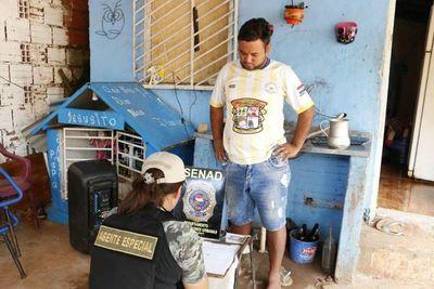 Detienen a vendedor de crack en San Lorenzo