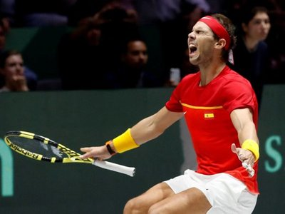 España gana la Copa Davis por sexta vez con un Nadal pletórico