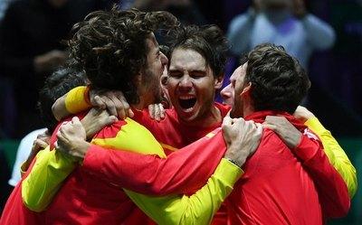 Rafael Nadal guía a España a su sexta Copa Davis