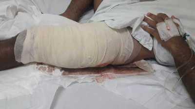 A patadas, un instructor policial destrozó tendones de un suboficial concepcionero