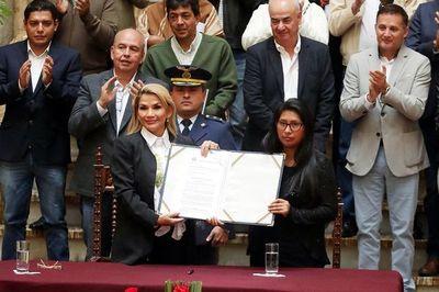 Promulgan ley en Bolivia para nuevas elecciones