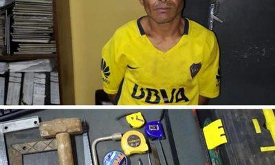Detienen a hombre que ofrecía herramientas  robadas en el microcentro de CDE