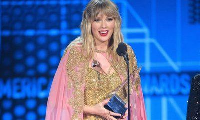 Taylor Swift hace historia en los AMAs al superar récord de Michael Jackson