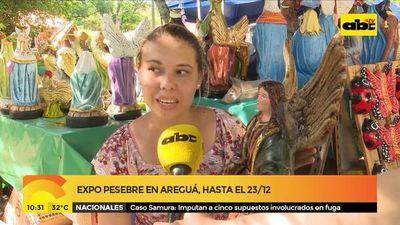 Expo pesebre en Areguá hasta el 23/12