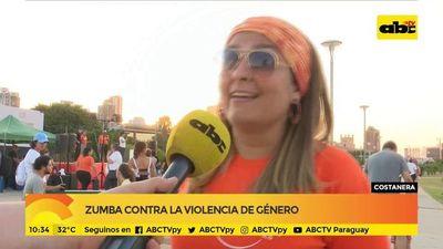 Zumba contra la violencia de género