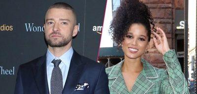 Justin Timberlake es visto agarrado de la mano junto a la co-estrella de su nueva película