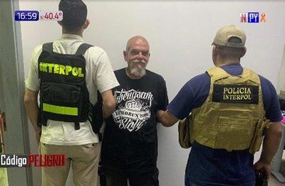 Interpol atrapa a alemán en Areguá