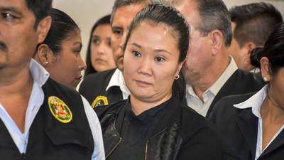 El Tribunal Constitucional de Perú vota a favor de la liberación de Keiko Fujimori