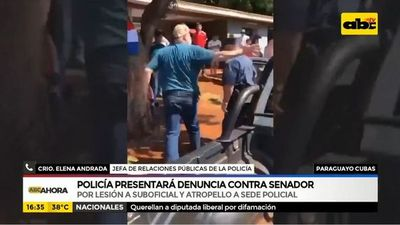 Policía presentará denuncia contra senador Paraguayo Cubas
