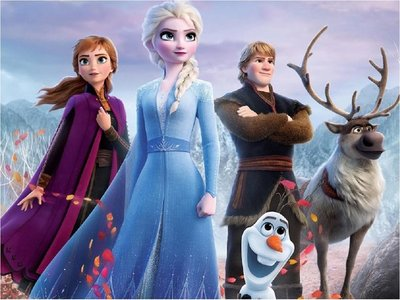 El estreno de Frozen 2 no encuentra rival en Estados Unidos y Canadá
