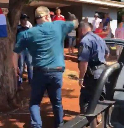 Comandante cuestiona actitud de Payo Cubas, denunciado por agresión a policías