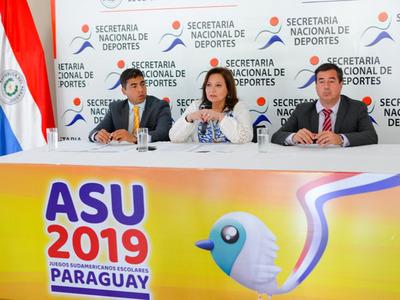 Los XXV Juegos Sudamericanos Escolares arrancan este domingo