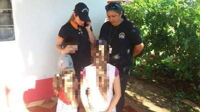 Rescatan a niños que eran explotados sexualmente por la madre