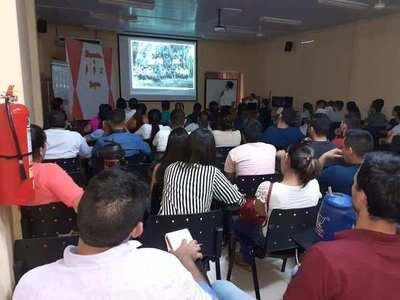 90 NUEVOS FUNCIONARIOS DE SALUD SE CAPACITARON EN ITAPÚA