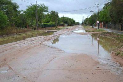 Lluvia bienvenida en el Chaco Central