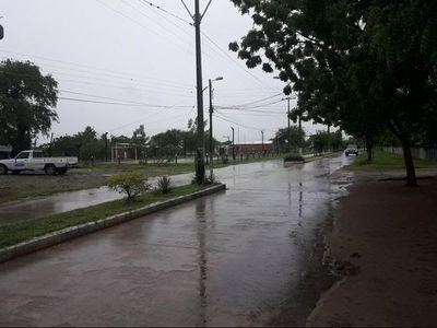 Lluvia y sin luz en Alto Paraguay