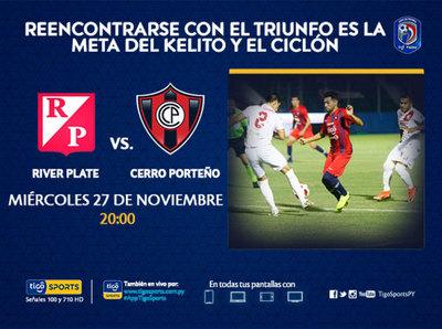 Promo: River Plate vs. Cerro Porteño