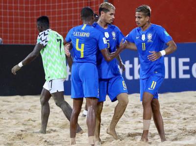 Compacto: Nigeria 2-12 Brasil