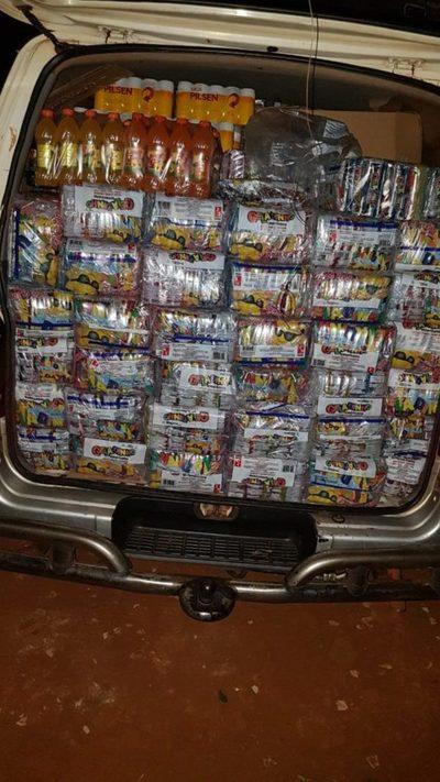 Incautan productos presumiblemente de contrabando en CDE