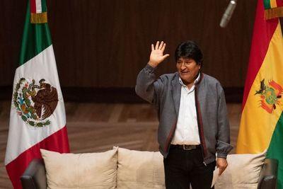 Evo Morales dice que sufre persecución de Interpol por cargos de terrorismo