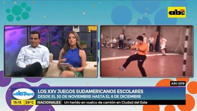 Los XXV Juegos Sudamericanos Escolares