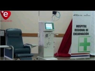 HOSPITAL DE ENCARNACIÓN ''PRESTA'' EQUIPOS DE HEMODIÁLISIS