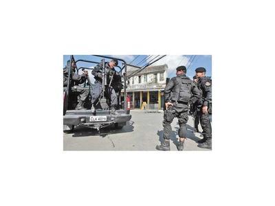 En Brasil caen 80 miembros del  PCC en un gran operativo