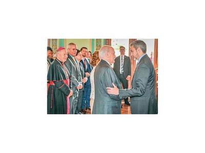 Alfredo Ratti juró como embajador ante el Vaticano