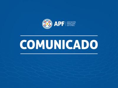 APF rechaza afirmaciones del presidente de Olimpia
