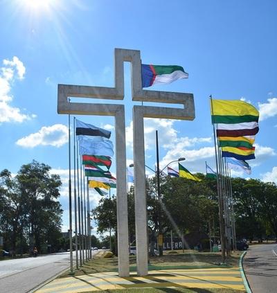 Kurusu peregrino, la cruz que fue instalada tras un milagro