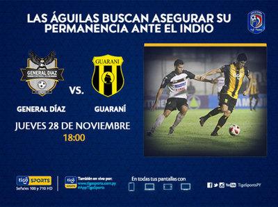 Promo: General Díaz vs. Guaraní
