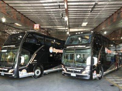 Sector privado presenta al Gobierno modernos buses para larga distancia
