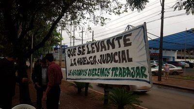 Funcionarios Judiciales levantan medida tras dos semanas de huelga