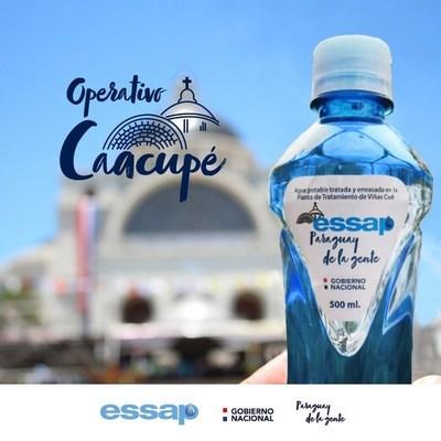 Con 44 grifos y tanques de agua potable, Essap ayuda en la hidratación a peregrinos