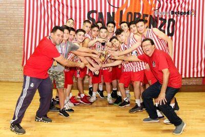 U15 Masculino: Campaña realizada por los campeones