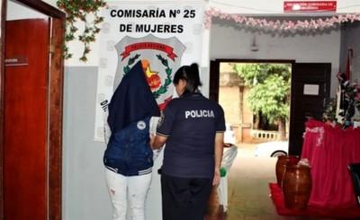 Mujer detenida por actuar de chofer de supuesto asaltante