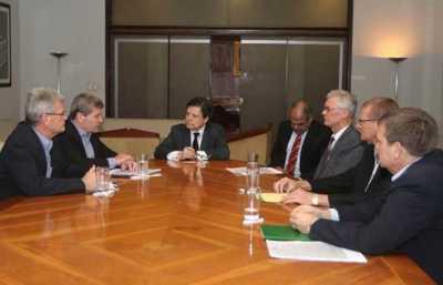 Ministro del Interior respalda alianza de la Policía y cooperativistas del Chaco