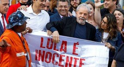 Elevan condena contra Lula da Silva