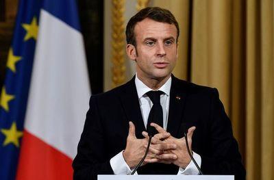 """Macron defiende su """"llamado de atención"""" a la OTAN"""