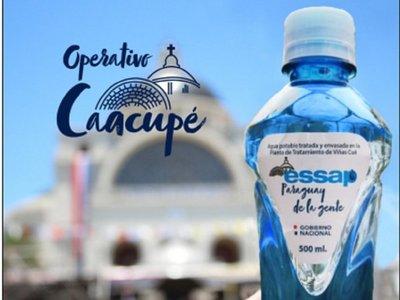 Essap distribuirá 25.000 botellas de agua entre peregrinos