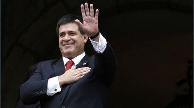 Tribunal de Justicia de Brasil levanta orden de detención contra Horacio Cartes