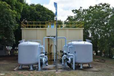 Habilitan planta de tratamiento de agua en San Bernardino