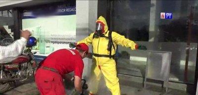 Denuncian presunto ataque con químicos a empleadas de un comercio