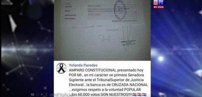 Cruzada Nacional pide ocupar banca de Payo mediante amparo constitucional
