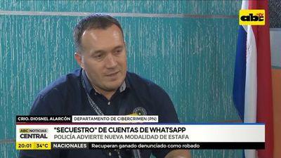 Alertan nuevos casos de secuestros de cuentas de whatsapp