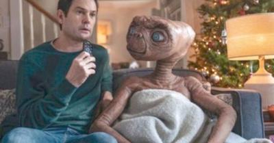 E.T. apareció con su amigo