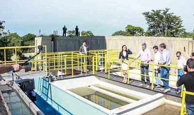 Inauguran tres plantas de tratamiento para garantizar provisión de agua