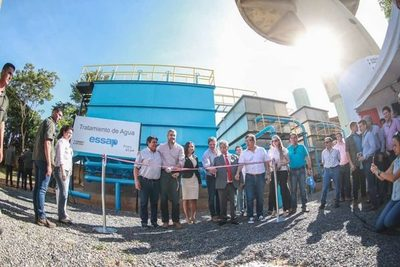 Inauguran plantas de tratamiento que beneficiarán a unos 8.500 usuarios